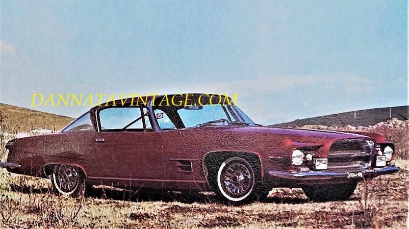 Carrozzeria Ghia, L 6.4 una lussuosa berlina(ona ;) ) realizzata per la Chrysler - 1960.