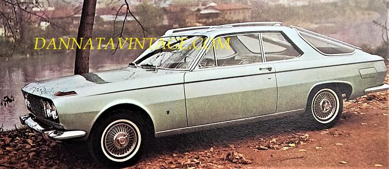 Carrozzeria Ghia, Ford Falcon esemplare unico di una particolare auto con carrozzeria giardinetta e di lusso per giunta.