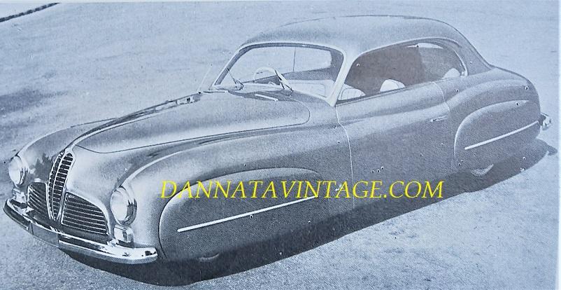 Carrozzeria Ghia, Delahaye 135 M con un motore da 3,5 litri - 1948.