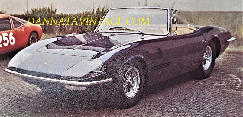 Carrozzeria Ghia, 1965 - Ford Cobra, vettura GT dotata di un propulsore da sette litri, costruita per la Shelby American.