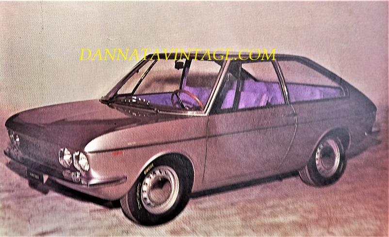 """Carrozzeria Ghia, La Vanessa, un'auto pensata e realizzata prettamente per una """"utenza femminile"""" - 1966."""