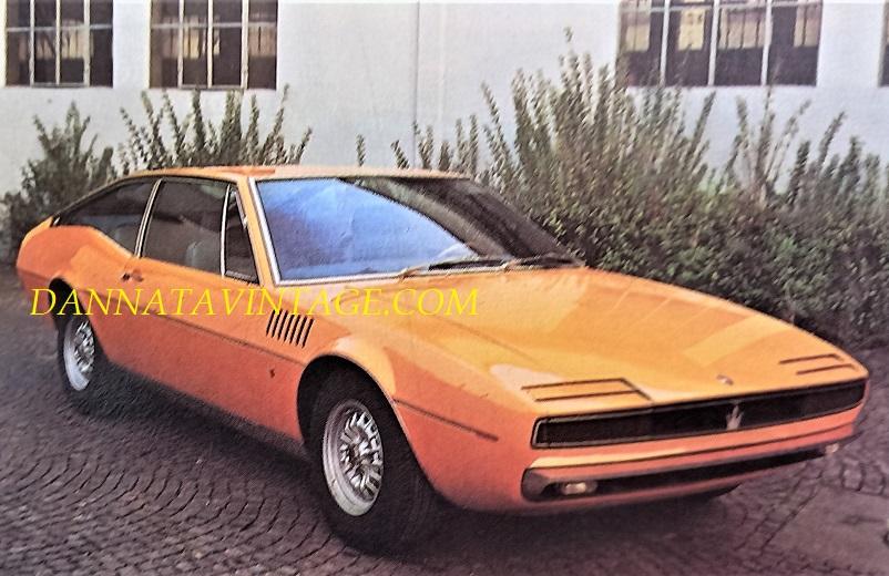 Carrozzeria Ghia, Simun Maserati, il prototipo di una vettura 2 + 2 coupé, il motore un 4,2 litri, presentata nel 1968.