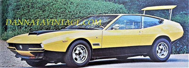 Carrozzeria Ghia, Su base Lancia Fulvia 1600 questo berlina sportiva che abbiamo già vista insieme.