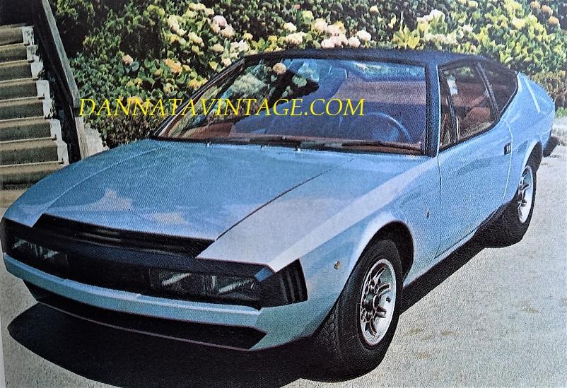 Carrozzeria Ghia, Mustela MKII, coupè 2 + 2 con meccanica Ford da tre litri, vista per la prima volta finita nel 1973.