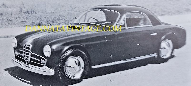Carrozzeria Ghia, Alfa Romeo 2500SS Supergioiello con una carrozzeria molto leggera - 1950.