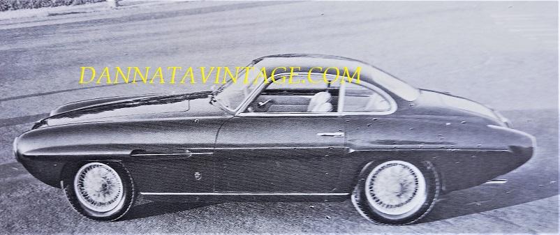 Carrozzeria Ghia, Fiat 8V del 1953, splendida esecuzione di una coupé italiana per quel periodo, splendida davvero.