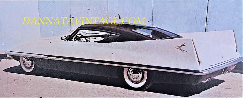 Carrozzeria Ghia, Il tettuccio era rigido, a scomparsa con comando elettrico, dotata di una motorizzazione Chrysler da 400 cavalli - 1956 PHOTO 2.