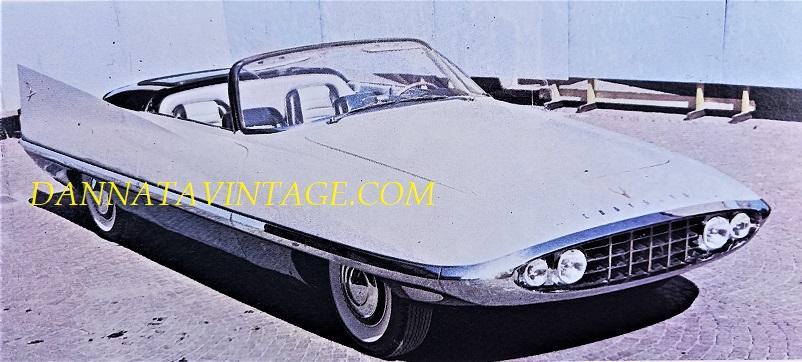 Carrozzeria Ghia, Si noterà la fascia in acciaio che la protegge, molto ben profila sulla parte anteriore - 1956 PHOTO 3.
