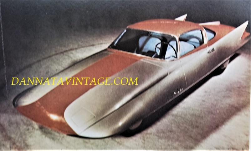 Carrozzeria Ghia, Gilda del 1955, studio di carrozzeria ma privo di parti meccaniche.