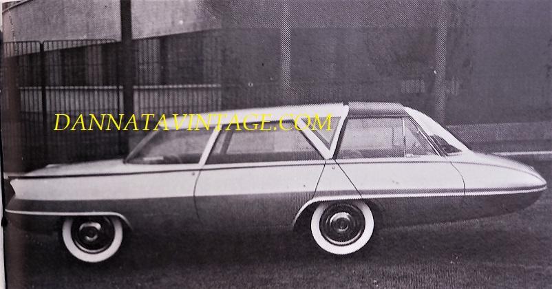 Carrozzeria Ghia, Selene MK1 vista per la prima volta al Salone di Torino nel 1959. linee indubbiamente molto particolari e diremmo futuristiche.