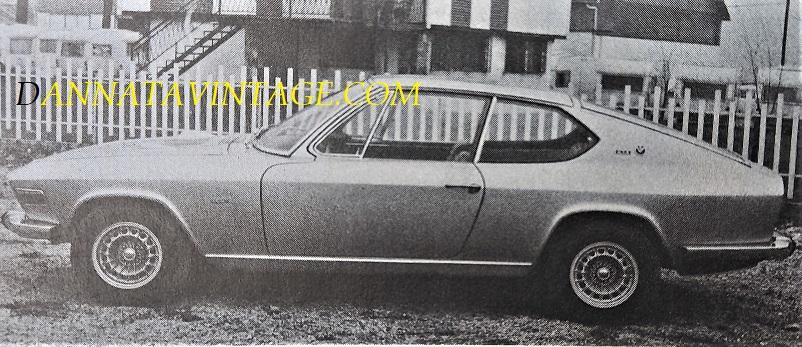 Carrozzeria Frua BMW prototipo su base 20002, ti suggerisco un LINK per questa meravigliosa auto.