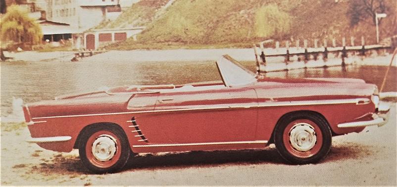 Carrozzeria Frua Renault Floride.