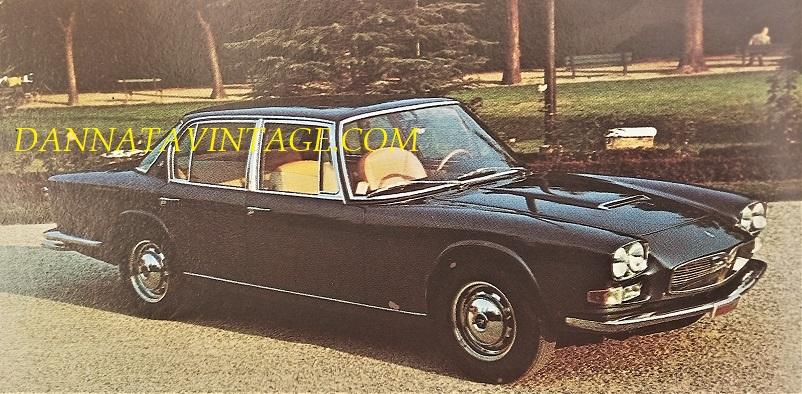 Carrozzeria Frua La bellissima Maserati Quattro Porte del 1963, rimasta in produzione sino al 1970.