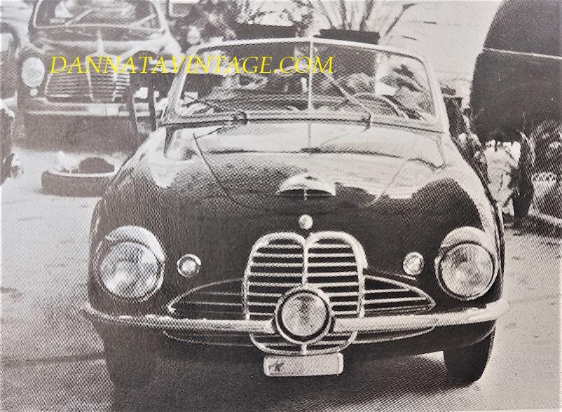 Carrozzeria Frua Maserati 2000 A6 GCS cabriolet Gransport - 1950.