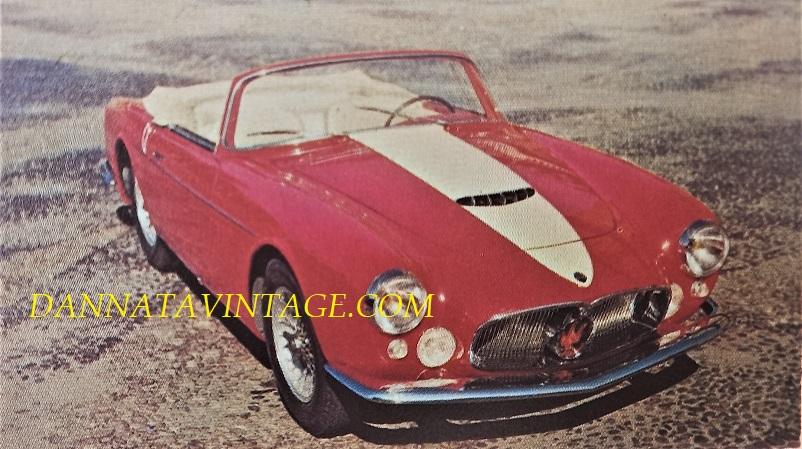 Carrozzeria Frua Maserati A6G/2000 Gran Sport Spider - 1957