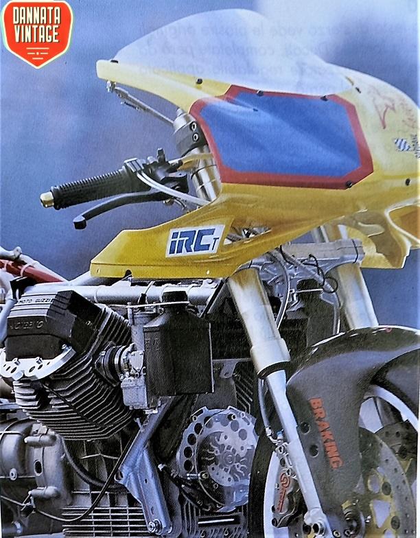 Guzzi Joverno, In questa foto sono in evidenza i carburatori che sono rivolti in avanti viste le testate montate al rovescio.