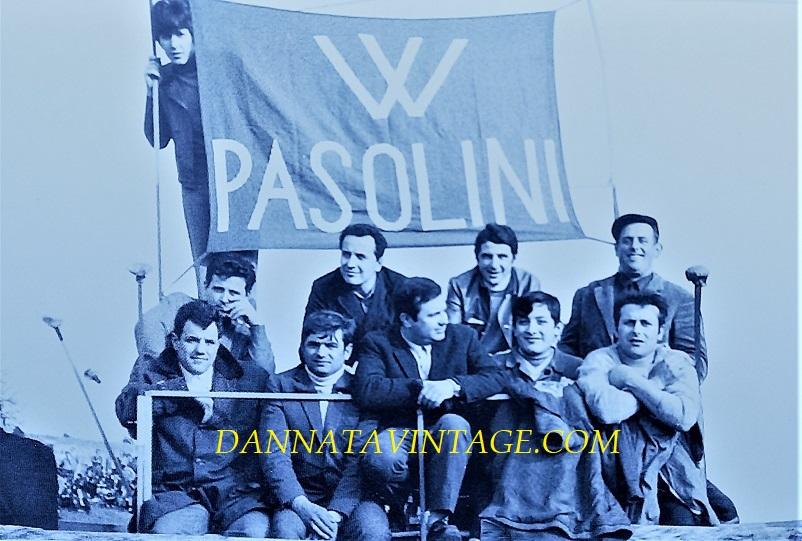 Il Circuito di Riccione, Tifosi di Renzo Pasolini, spesso ed anche su spalti improvvisati pur di vedere il loro idolo correre.