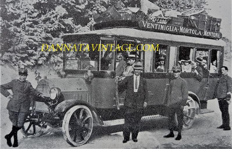 SEAC, Autocostruzioni Casaro corriera su Fiat - 1930.
