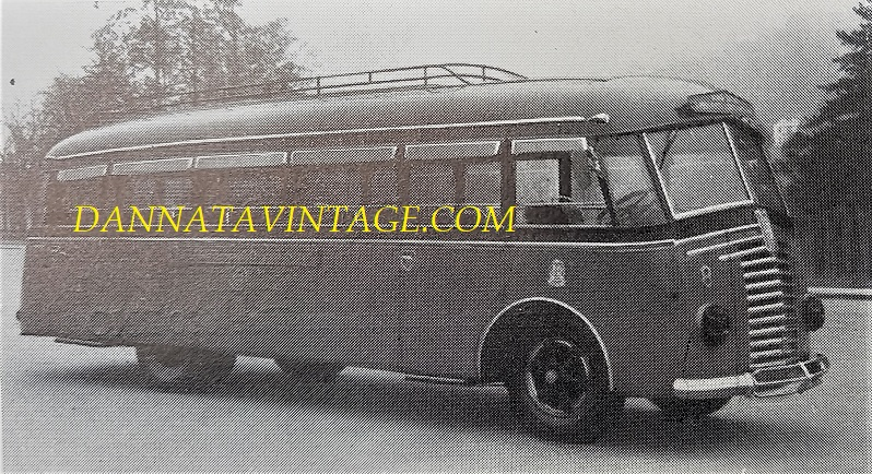 SEAC, 1940 - Autobus su FIAT.
