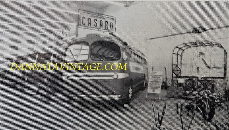 SEAC, Cassa portante TUBOCAR con gruppi meccanici Alfa Romeo - 1957.