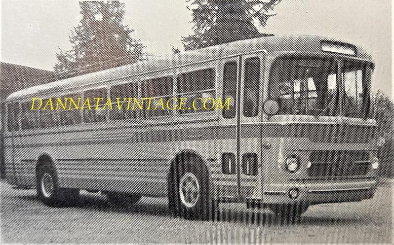 SEAC, Autobus TUBOCAR 112 S.A.I.S. con gruppi meccanici FIAT 306-109 - 1962.