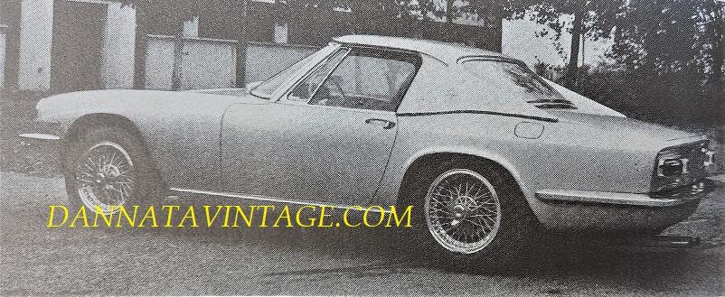 Carrozzeria Frua Maserati Mistral Hardtop del 1965.