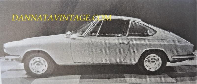 Carrozzeria Frua Glas 1300 GT - 1963 prodotta anche con un motore 1600, in un discreto numero complessivo.