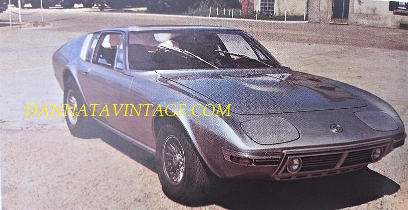 Carrozzeria Frua Presentata nel 1970 al Salone di Ginevra questo prototipo realizzato su base Opel Diplomat con passo accorciato, rimasta in esemplare unico.