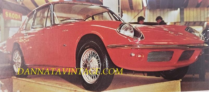 Carrozzeria Frua Lotus Elan 1600 SS Coupé - presentata al Salone di Ginevra del 1964.