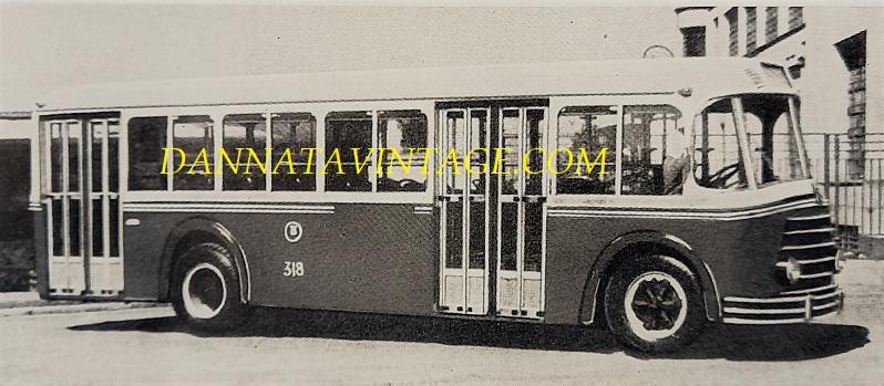 SEAC, Casaro con un autobus urbano su base Fiat 680 RNO - l'anno il 1938.