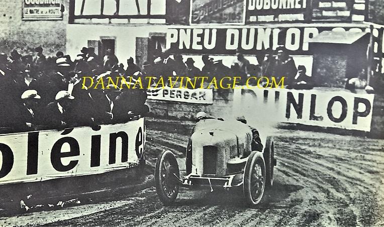 Si correva, Eravamo in Francia nel 1922 per il Gran Premio del A.C. francese, l'auto una FIAT e il pilota Pietro Bordino che in quell'occasione fece il giro più veloce sulla sua 804 a sei cilindri 1991 Cc da 112 cavalli a 5000 giri.