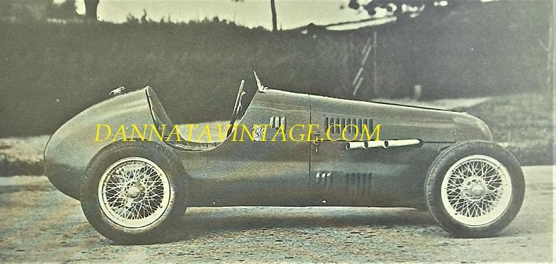 Si correva, Cisitalia del 1946.