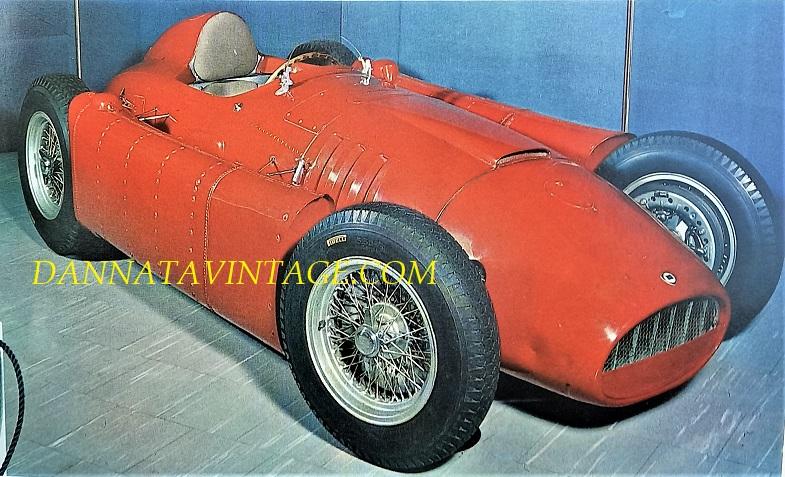 Si correva, Lancia Formula 1 del 1955.