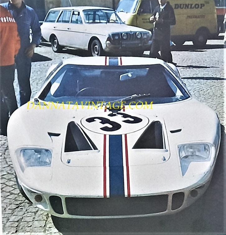 Si correva, La Ford GT 40.