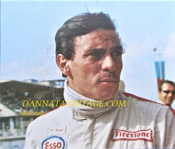Si correva, Jim Clark (Kilmany, 4 marzo 1936 – Hockenheim, 7 aprile 1968), vinse con la Lotus due Mondiali nel 1963 e 1965 perendo troppo presto, quello che era considerato uno dei migliori piloti, fra i più completi.