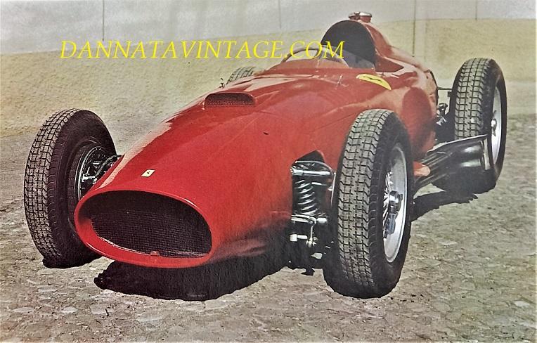 Si correva, 1957 con una Ferrari Formula I, dotata di un otto cilindri a V 2492 Cc, 280 cavalli a 9.000 giri ed i piloti del team di allora erano Luigi Musso-Peter Collins-Mike Hawthorn-Wolfgang Von Trips. In quel periodo a vincere e dominare la maggior parte delle gare era Fangio con la sua Maserati.