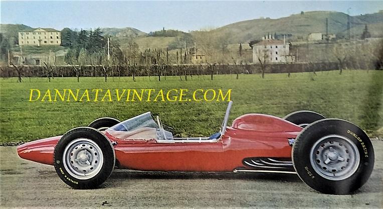 Si correva, 1962 con questa bellissima ATS Formula 1, con un motore montato dietro a 8V 1494 Cc e 190 cavalli a 11.000 giri ed un peso di 492 chilogrammi a secco.